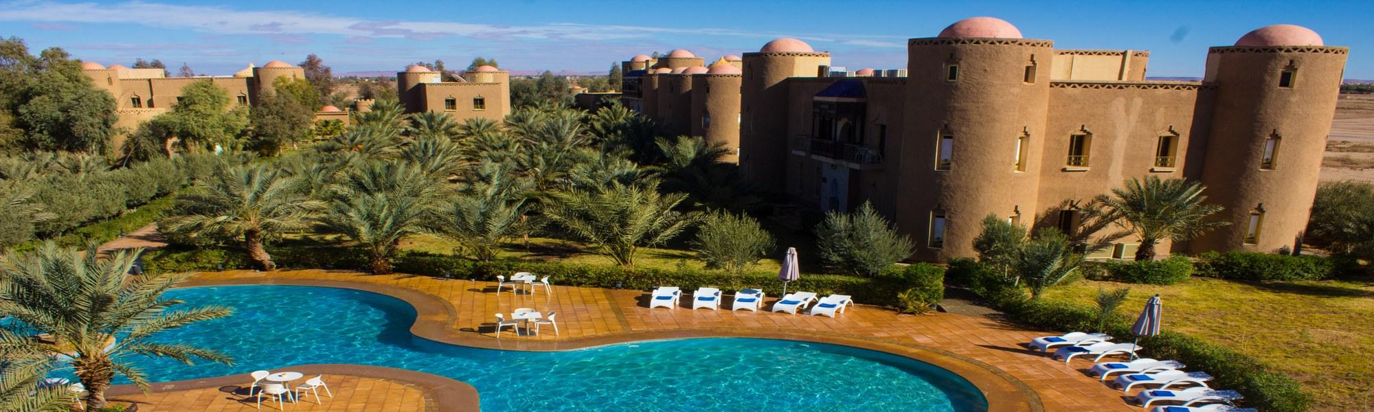 Resultado de imagen de palais du desert hotel & spa erfoud